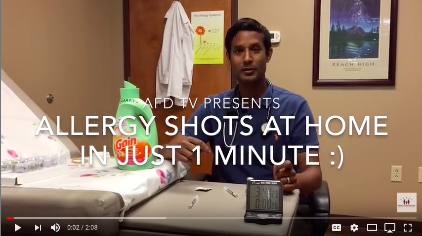 Allergy Shot Video